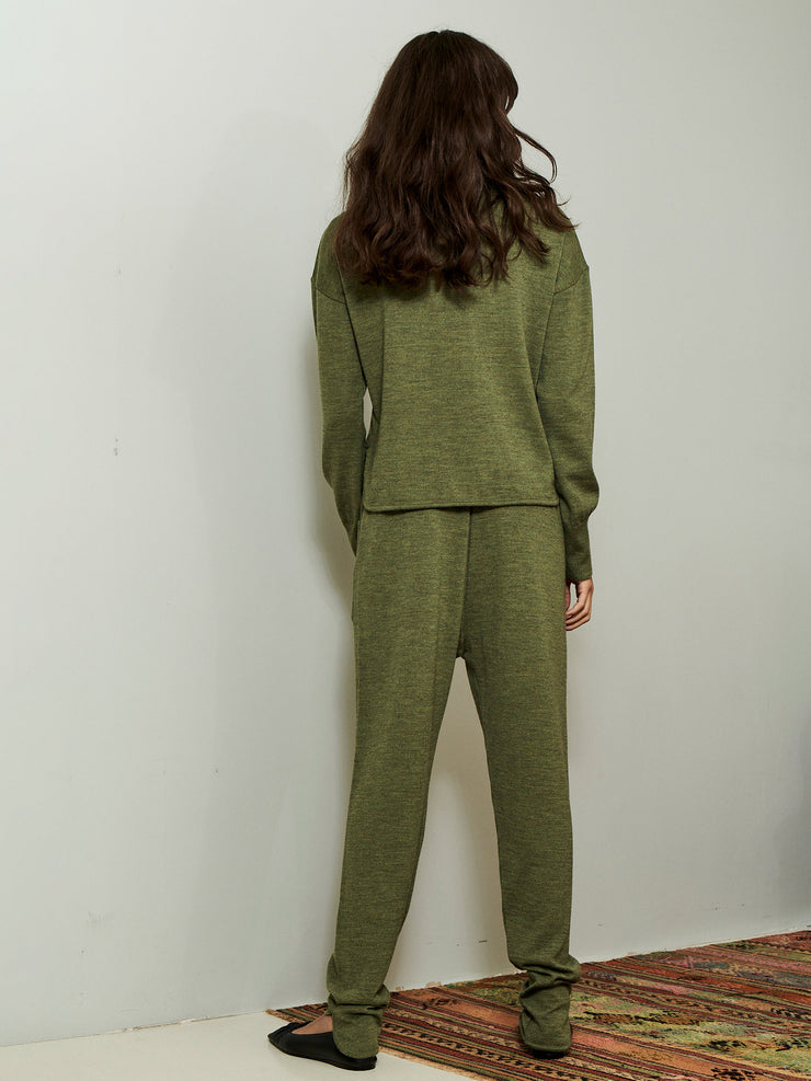 KIRSTY SWEATER GREEN