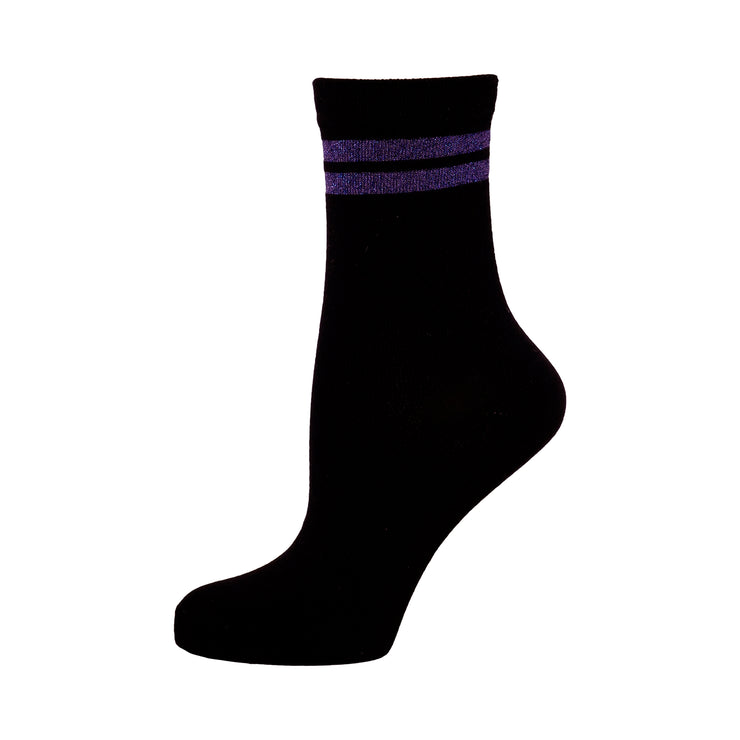 LAILA LOW SOCKS PURPLE