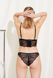 Lima briefs are made in soft nylon lace. Sustainable underwear