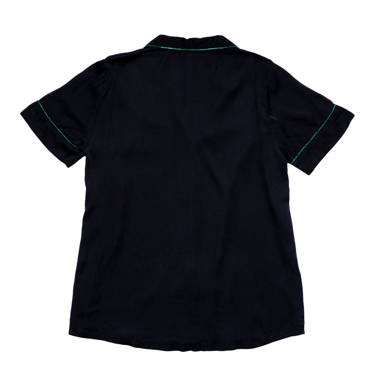 LISA SHORT SHIRT BLACK