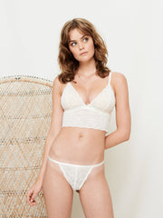 LUNA STRING WHITE