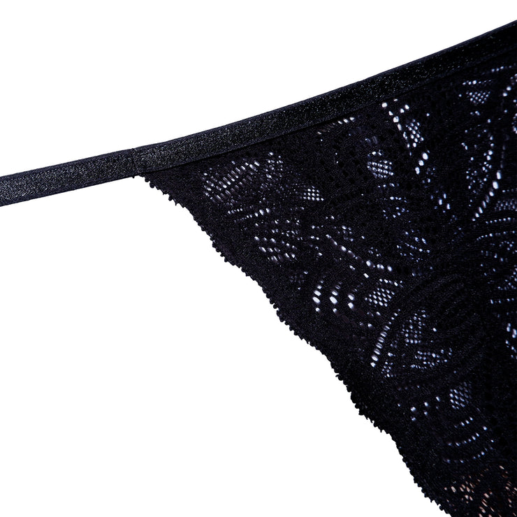 LUNA STRING BLACK