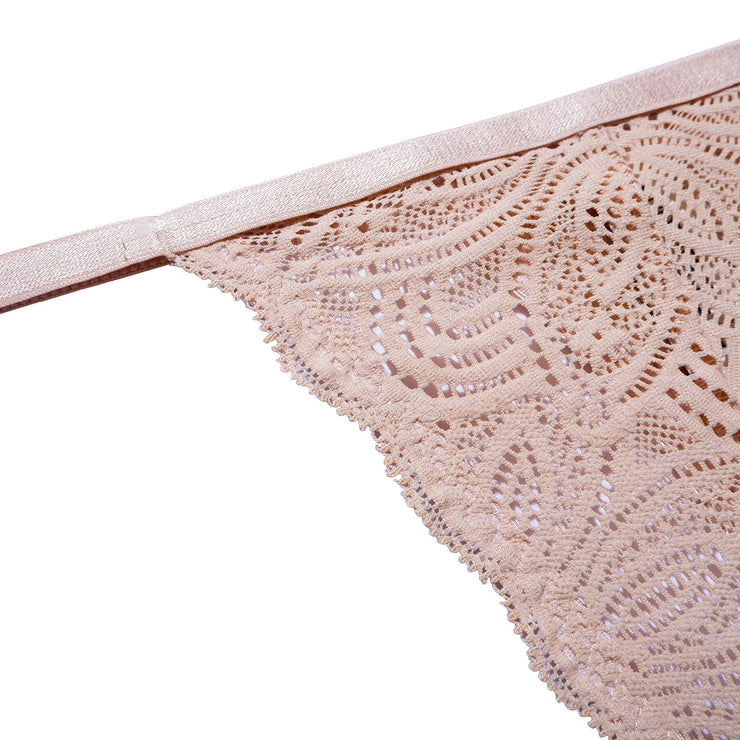 Our beautiful Luna String is made in soft recycled nylon lace with delicate scalloped edges paired with a thin waist elastic.Our beautiful Luna String is made in soft recycled nylon lace with delicate scalloped edges paired with a thin waist elastic.