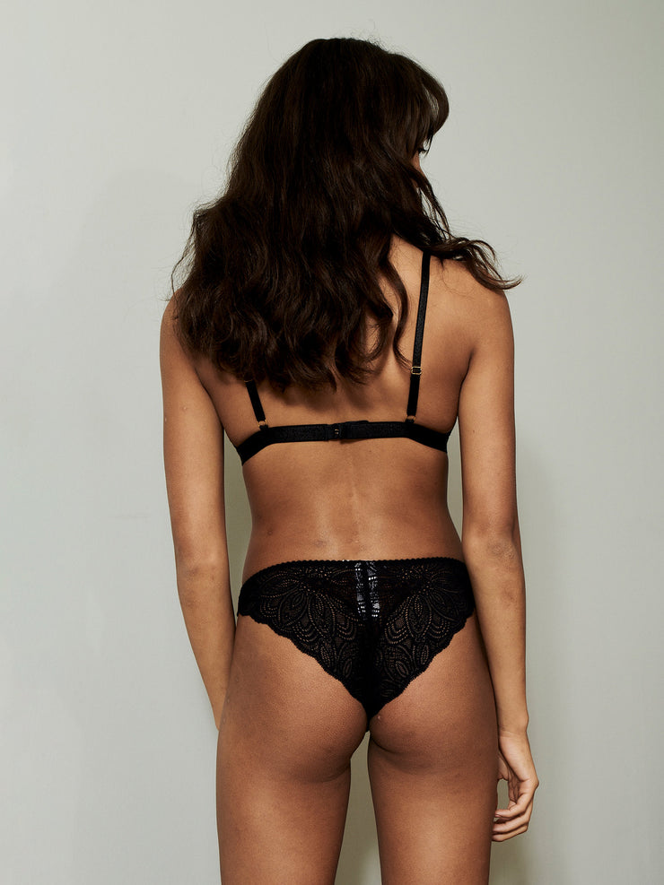 LUNA BRIEFS BLACK