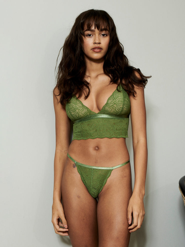 LUNA STRING GREEN