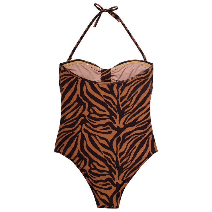 MELINA SWIMSUIT CAMEL