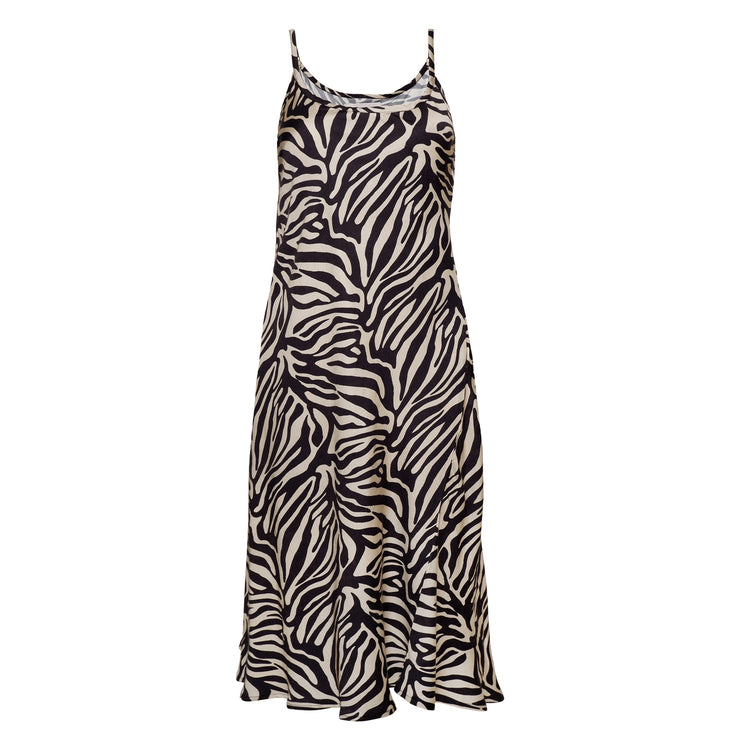 RANIA SLIP DRESS CREME