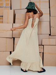 SARA DRESS BEIGE