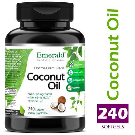Emerald Laboratories (Fruitrients) - Coconut Oil - 100% Pure Extra Virgin  Coconut Oil - Promotes Cholesterol Health, Weight Loss, Immune Support, &