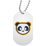 Collier Dog Tag - Panda
