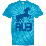 T-shirt Tie & Dye Homme - Royal Blue Unicorn