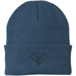 Bonnet Brodé - Navy Blue Super Bear