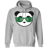Sweat à capuche Unisexe - Stuffed Kelly Green Beach Panda