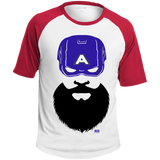T-shirt Raglan Homme - Captain Beard