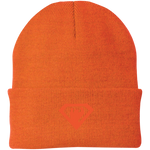 Bonnet Brodé - Orange Super Bear
