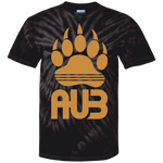 T-shirt Tie & Dye Homme - Antic Gold Bear Paw