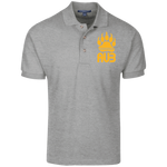 Polo Homme Brodé - Athletic Gold Bear Paw