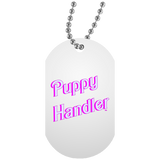 Collier Dog Tag - Puppy Handler BB Font II