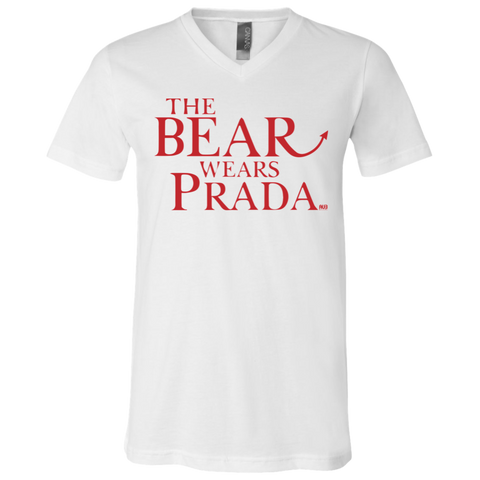 T-Shirt col V Unisexe - The Bear Wears Prada
