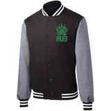 Veste Teddy Homme Brodée - Kelly Green Bear Paw