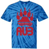 T-shirt Tie & Dye Homme - Red Bear Paw