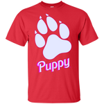 T-Shirt classique Homme - Dog Paw Puppy BB Font II
