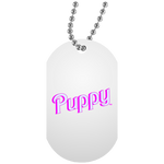 Collier Dog Tag - Puppy BB Font