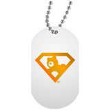 Collier Dog Tag - Gold Super AUB