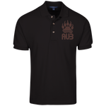Polo Homme Brodé - Brown Bear Paw
