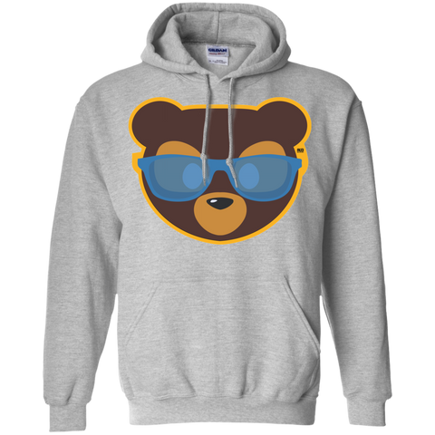 Sweat à capuche Unisexe - California Blue Beach Teddy Bear