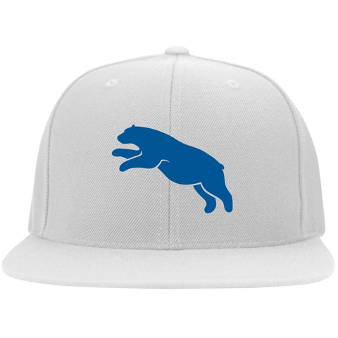 Casquette Snapback Brodée - Royal Blue Jumping Bear