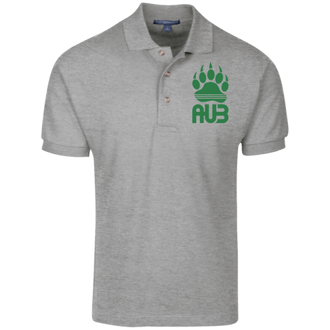 Polo Homme Brodé - Kelly Green Bear Paw