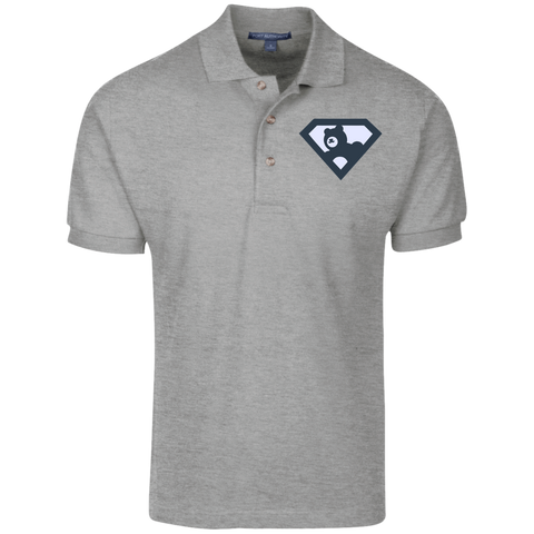 Polo Homme Brodé - Navy Blue Super AUB