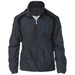 Veste Colorblock Homme Brodée - Navy Blue Bear Paw