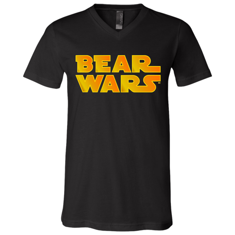 T-Shirt col V Unisexe - Bear Wars