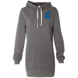 Robe Sweatshirt Brodée - Royal Blue Unicorn