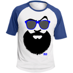 T-shirt Raglan Homme - Blue Beach Beard