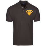 Polo Homme Brodé - Athletic Gold Super Bear