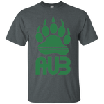 T-Shirt classique Homme - Kelly Green Bear Paw