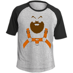 T-shirt Raglan Homme - Nasty Beard