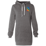 Robe Sweatshirt Brodée - Rainbow Bear Paw