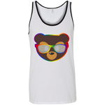 Débardeur Unisexe - Rainbow Beach Teddy Bear
