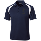 Polo Golf Homme Brodé - Black Dancing Bear