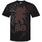 T-shirt Tie & Dye Homme - Brown Dancing Bear