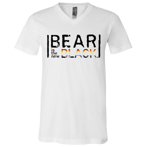 T-Shirt col V Unisexe - Bear Is The New Black