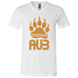 T-Shirt col V Unisexe - Antic Gold Bear Paw