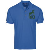 Polo Homme Brodé - Forest Green Unicorn