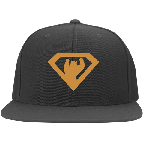 Casquette Snapback Brodée - Antic Gold Super Bear