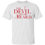 T-Shirt classique Homme - The Devil Wears a Beard