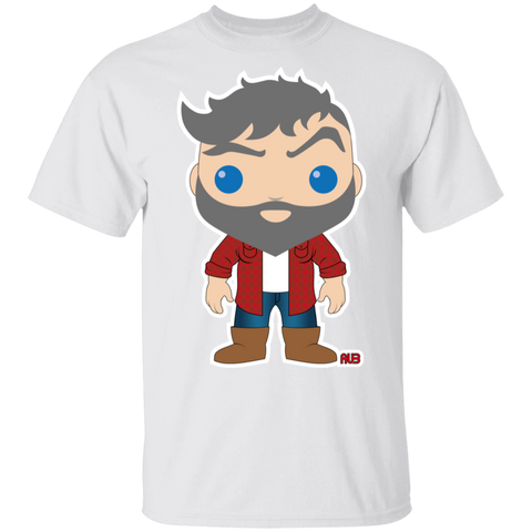 T-Shirt Classique Homme - Funky Silver Lumberjack